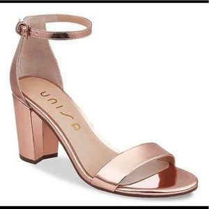 Rose gold high heels!